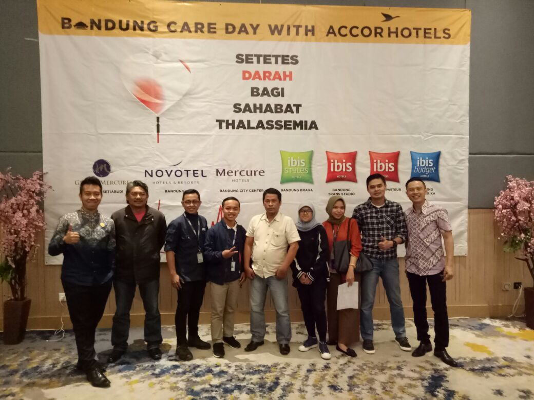ACCOR Blood Donation with Media